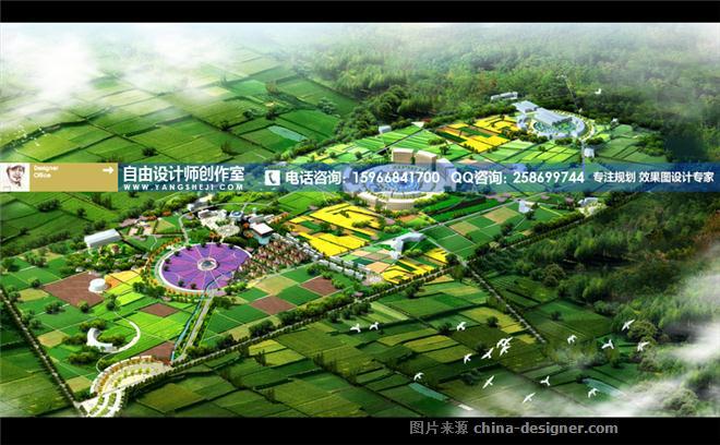 师家园-观光园规划设计图 农业旅游园区规划设计 生态农业观光园设计