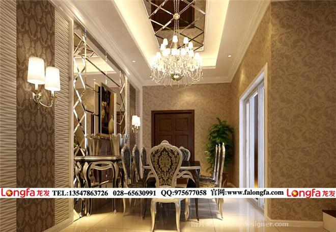 上林赋样板房装修,上林赋欧式风格装修图片-成都龙发装饰的设计师家园