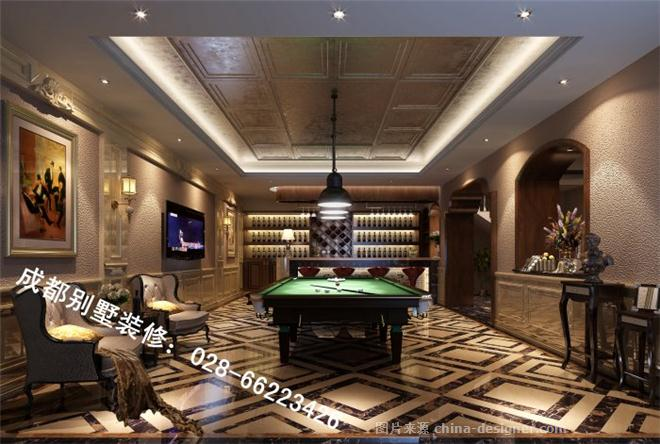古典欧式,休闲区,卧室,餐厅,独栋别墅