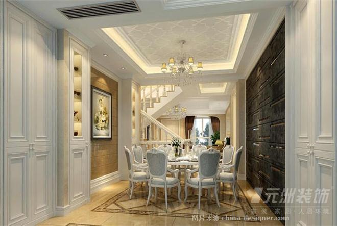 古典欧式,北欧风格,休闲区,卧室,餐厅,客厅,叠拼别墅