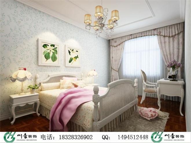 女儿房装修效果图-温江装修公司