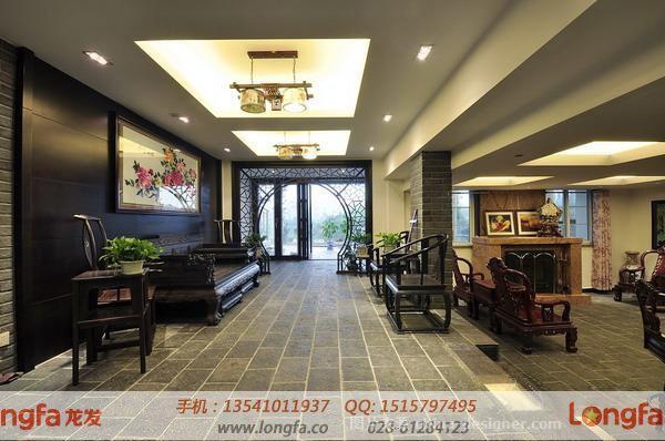 龙发装饰-成都别墅装修公司的设计师家园-传统中式,新中式,休闲区图片