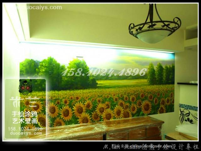 东城酒店酒楼手绘墙 东城餐厅餐馆墙画 酒吧墙绘画 东城个性店铺涂鸦