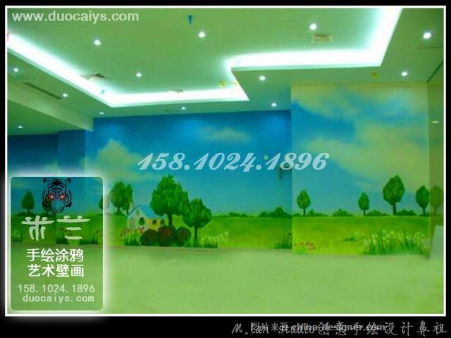 西城商店彩绘 西城酒店酒楼手绘墙 西城餐厅餐馆墙画 酒吧墙绘画 西城