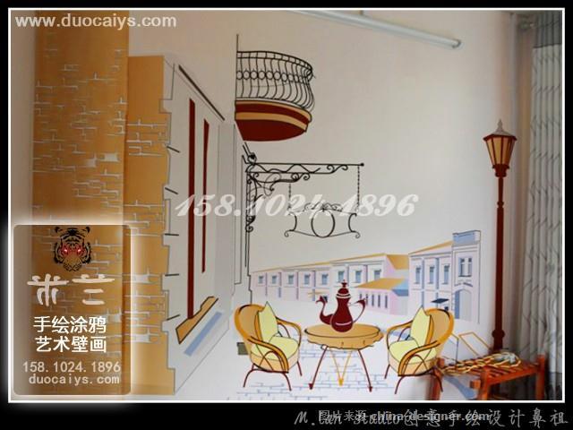 崇文酒店酒楼手绘墙 崇文餐厅餐馆墙画崇文酒吧墙绘 崇文个性店铺涂鸦