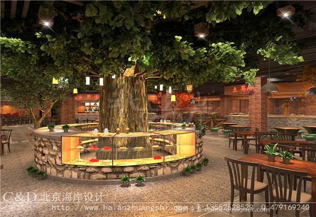 餐饮设计-淮安美食广场设计方案-郭准的设计师家园-北京海岸设计,淮安