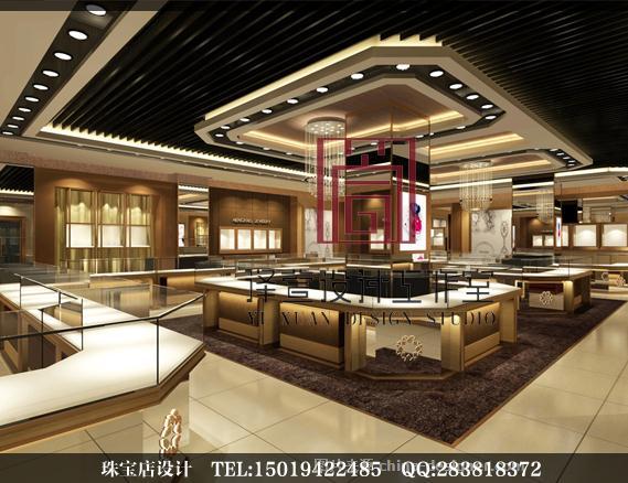 深圳恒星珠宝展厅-陈宣良的设计师家园-旗舰店