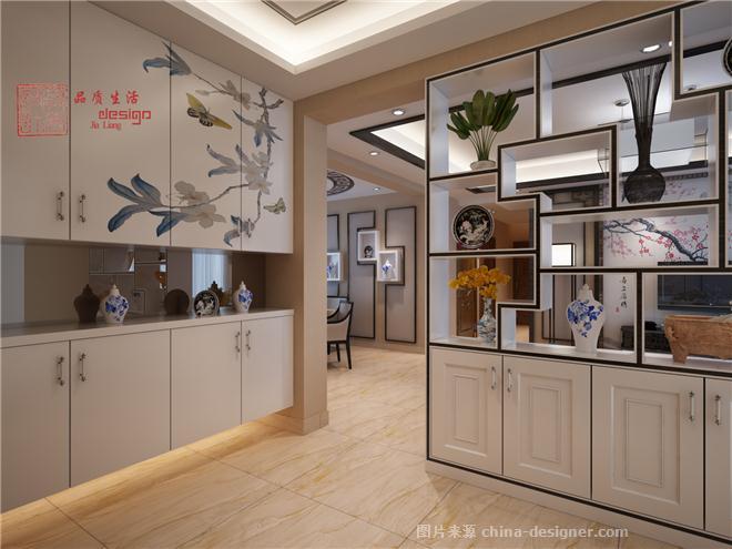 喜上眉梢-新中式风格-贾亮的设计师家园-江西萍乡,贾亮设计