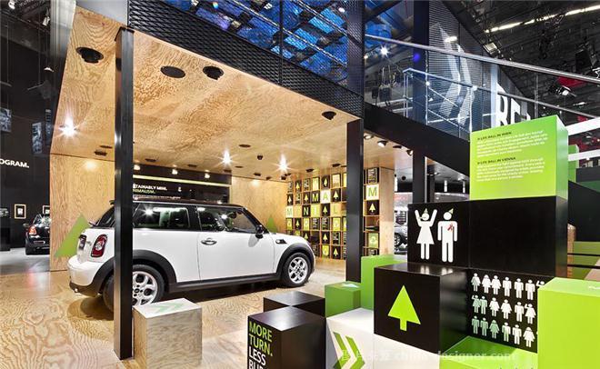 宝马mini4s店汽车展厅-王赛的设计师家园-现代简约,销售展厅