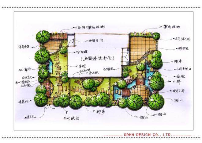 南宁别墅园林设计 大自然花园-曾华照的设计师家园-庄园