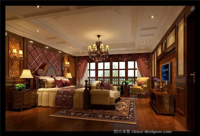 成都欧式风格装修,成都军区别墅装修图片-龙发装饰有限责任公司的设计