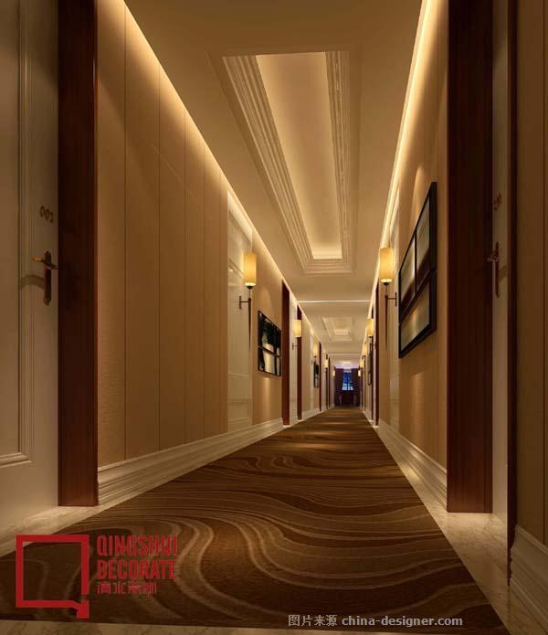 酒店走廊设计效果图