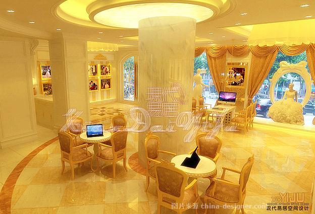 婚纱影楼空间设计效果最新案例-现代易居顶级影楼空间装修设计公司的