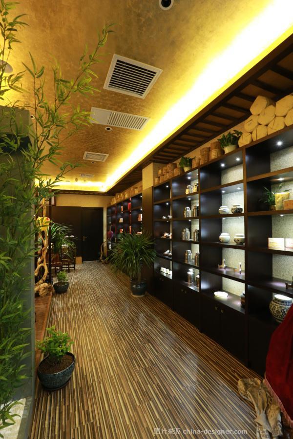 北京玖晟瑞合装饰设计有限公司的设计师家园-新中式,茶室/茶馆/茶社