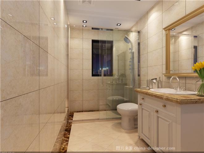 高贵典雅的110平欧式风格-马晓丹的设计师家园-衣帽间,餐厅,过道,卫生
