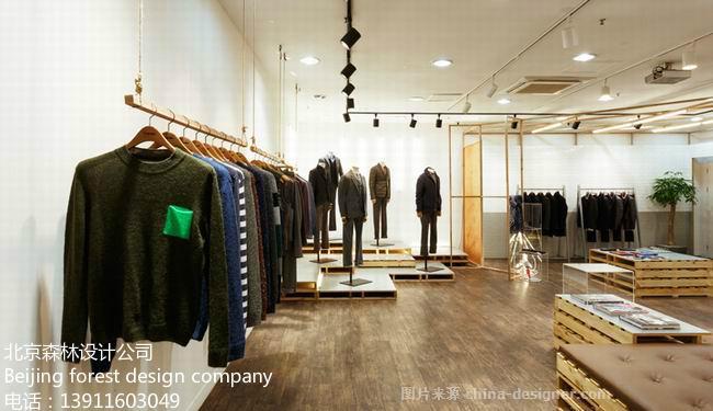 北京韩国韩饰服装店装-北京最专业最好的设计装修