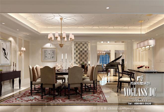 杭州尚层佩墅修饰的设计师家园-北边欧干风,卧室,餐厅,客厅,独栋佩墅图片