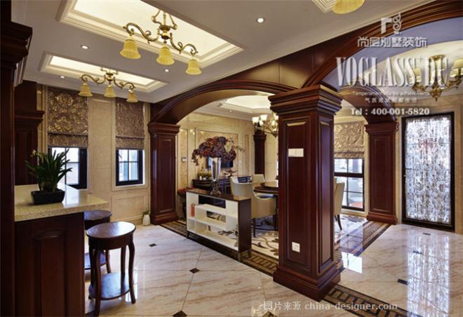 府尚别墅欧式新古典-杭州尚层装饰的设计师家园-卧室,厨房,新古典主义图片
