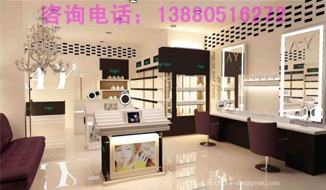 成都电脑化妆品店装修-成都纷美装饰工程中心做广告设计dell对品牌图片