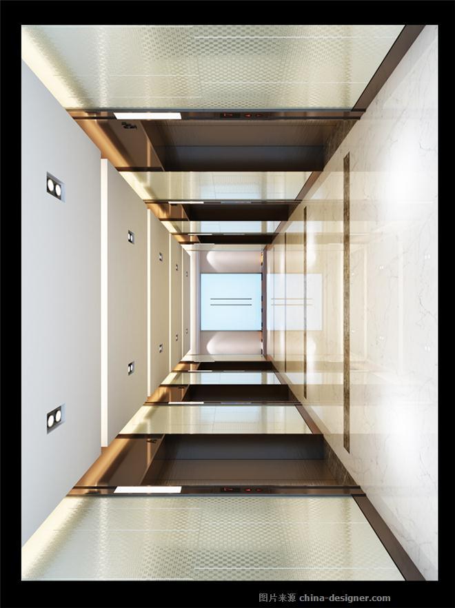 高德置地办公主塔楼设计-刘晖的设计师家园-现代简约