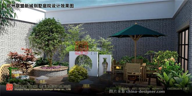 郑州别墅园林景观设计案例-别墅庭院设计