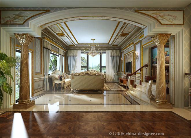 长岛花园别墅欧式古典-上海奥邦装饰设计工程有限