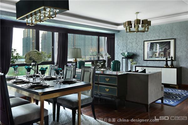 130平米典雅端庄的新古典格调居室-葛亚曦的设计师家园-lsdcasa