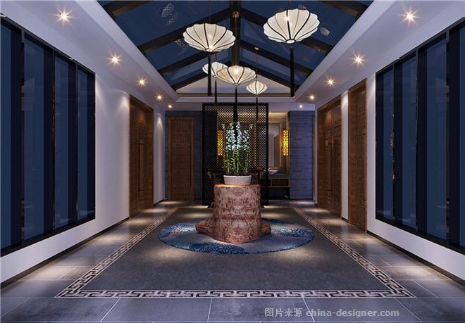 美国东方酒店别院-万宁DH设计机构的设计设计图中式花型新图片