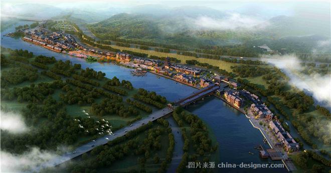 四川省恩阳古镇风情商业街建筑规划设计-倪镔的设计师家园-文化旅游图片