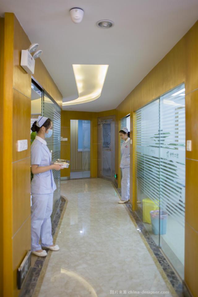 湖北咿呀连锁口腔-口腔医院牙科诊所装修设计公司的设计师家园-现代简