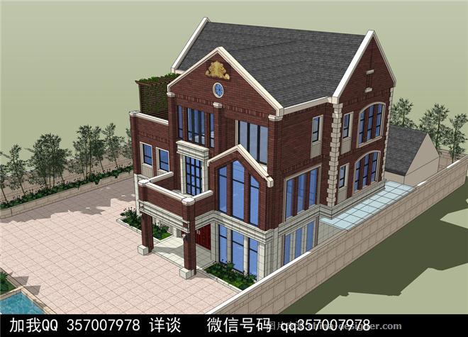 帶院子別墅設計案例