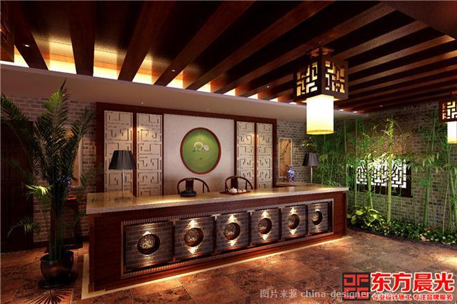 中式風格茶館設計古典溫馨-北京東方晨光裝飾有限公司的設計師家園