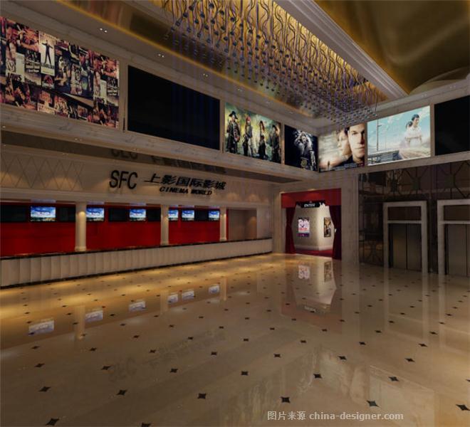 宜昌万达影院今日影讯-海广场上影国际影城-汪飞的设计师家园-娱乐会所(660x600)-上影