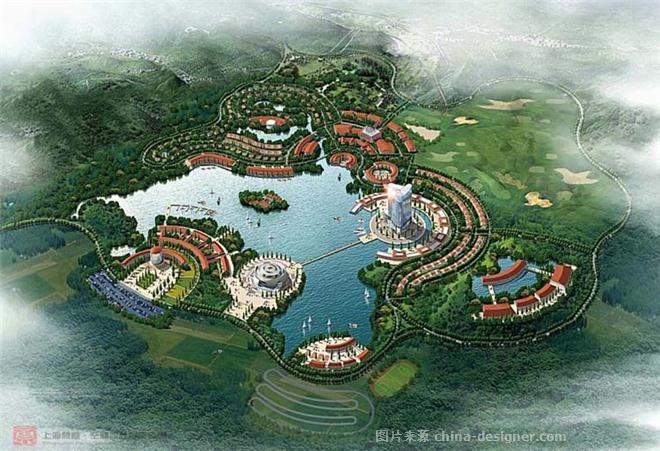 郑州休闲农庄设计方案-梵意园林设计-郑州园林景观设计-梵意园林设计