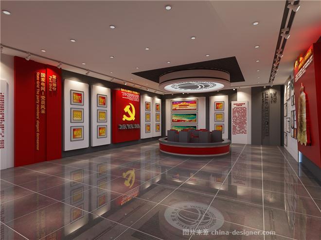 电力局廉洁文化展厅-mr.deng的设计师家园-展示空间,展览空间,展厅