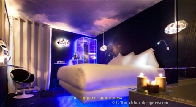 上海家园国际情趣设计装修效果图-甲一酒店设计的设计师玩法-度假夫妻主题之间情趣床上图片