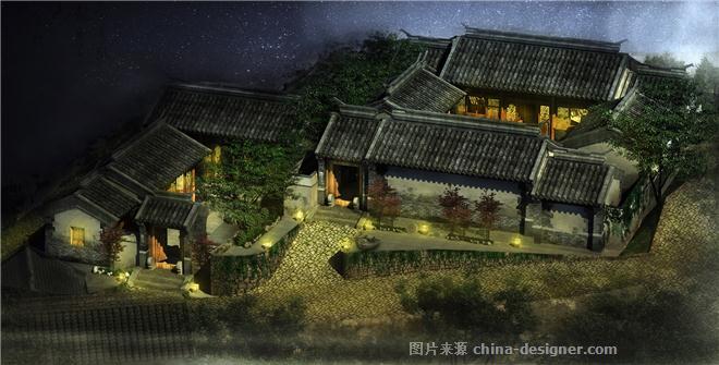 杨家峪古村落庭院设计