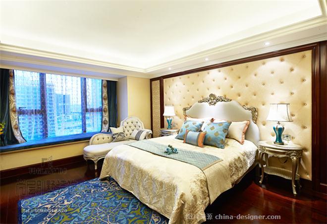 新古典精装房软装设计风格-杭州尚层装饰的设计师家园-古典欧式,三居