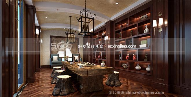 【星杰设计案例】上海-中南星杰设计装饰工程风景园林设计速写图片