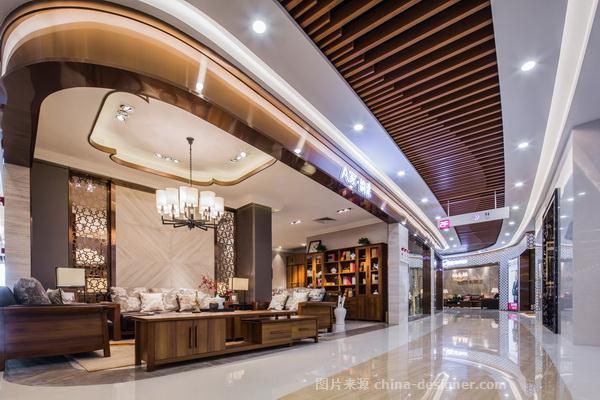 东莞a家家居总部-卢涛的设计师家园-购物中心/商业综合体,简约大气,青