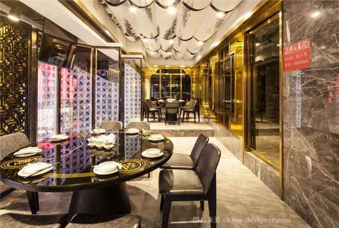 陸小鳳新派川菜館(廣州建設六店)-羅文的設計師家園-中餐廳,新中式