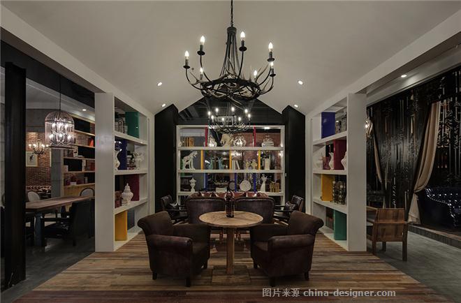 咖啡馆-胡元奎的设计师黑色-后现代主义,灰色,白色,家园,其他,工业化百奇包装设计ppt图片