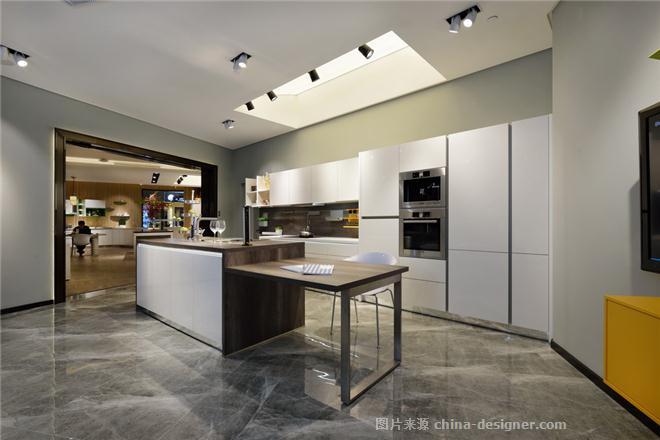 德国旭勒橱柜上海展厅-刘玟霭的设计师家园-建材店,现代简约,闲静轻松图片