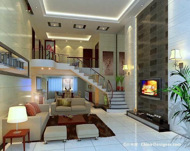 复式楼中楼-南充尚品设计的设计师家园-现代
