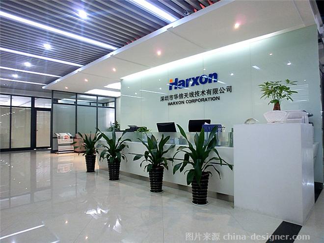 深圳办公室设计,前台形象墙