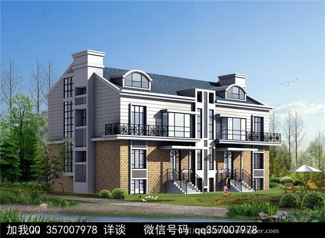 联排别墅设计案例-室内设计师93的设计师家园-庄园,空中别墅,叠拼别墅图片