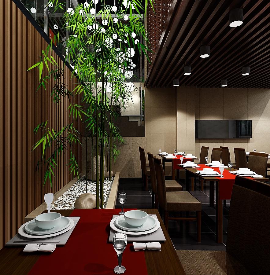 沈阳绿可木方木系列产品用于酒店格栅与吊