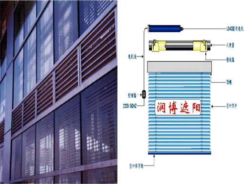 默认系列 电动上悬窗 电动玻璃百叶 电动罗马帘 电动平滑天窗 电动窗图片