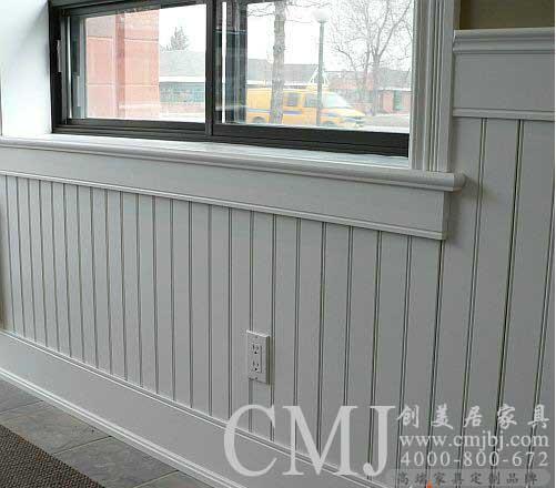 白色护墙板 欧式装修