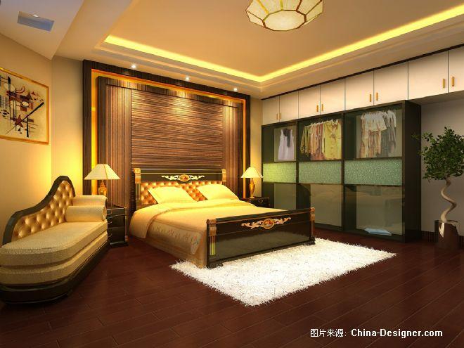 别墅卧室-白章伟的设计师家园-卧室